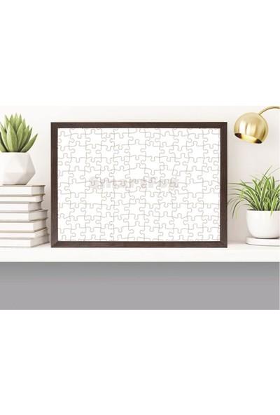 Smartfox Puzzle ve Yapboz Çerçevesi 1500 Parça Için 85CMX60CM Ebatında Kahverengi