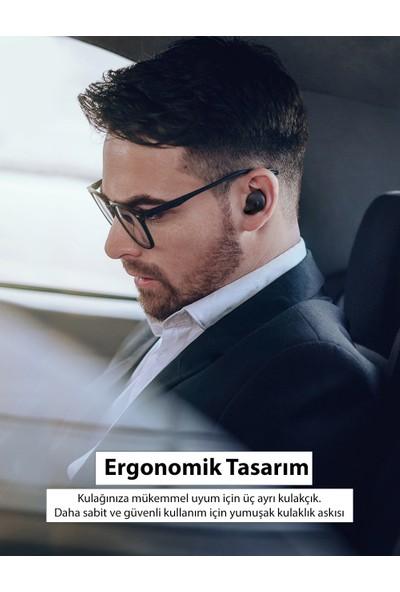 TaoTronics SoundLiberty 79 Şarj Kılıflı IPX8 Su Geçirmez Yapay Zekalı Gürültü Engelleyicili Bluetooth Kulaklık 30 Saat Müzik