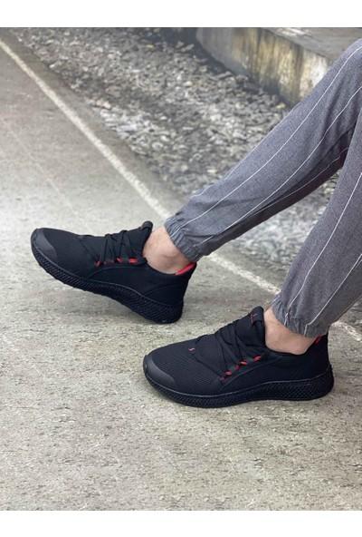Axis Erkek Spor Ayakkabı 705 - Siyah / Kırmızı