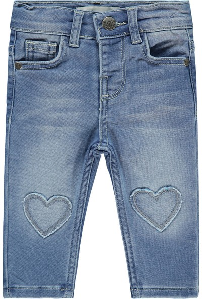 Civil Baby Kız Bebek Pantolon 6-18 Ay Mavi