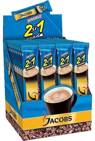 Jacobs 2'si 1 Arada 14 gr 40'lı x 4 Paket