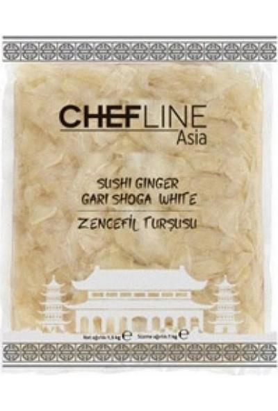 Chefline Beyaz Zencefil Turşusu 1.5 kg