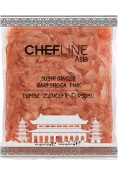 Chefline Pembe Zencefil Turşusu 1.5 kg