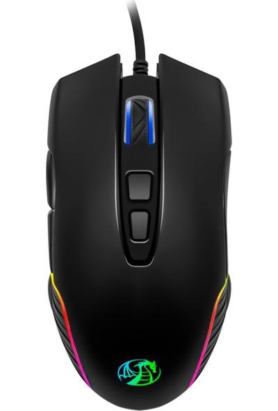 MF Product Strike 0592 Rgb Kablolu Gaming Mouse Siyah