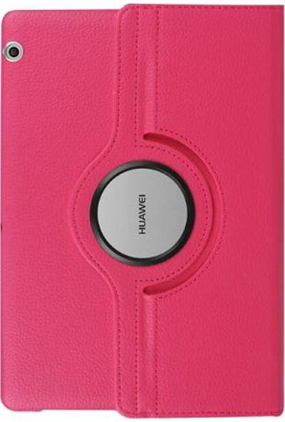 BizimGross Huawei Matepad T8 8'' Kılıf 360 Derece Dönebilen Standlı Tablet Kılıfı Pembe