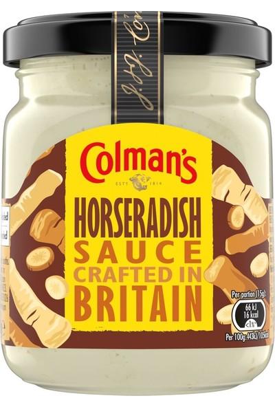 Colman's Yaban Turbu Sosu ( Horseradish ) 136 gr