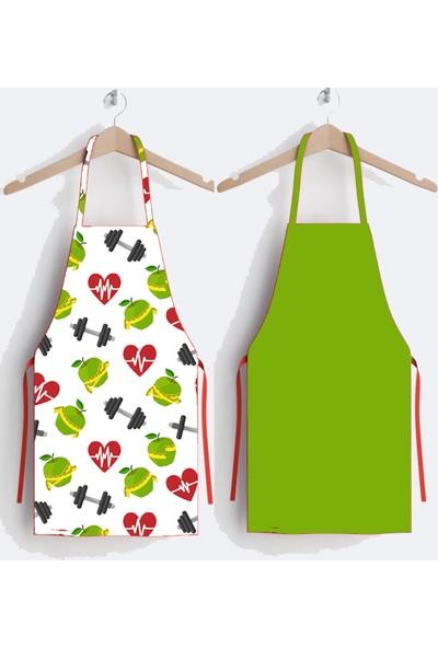 Ays Home Aile Tasarım 2'li Mutfak Önlüğü