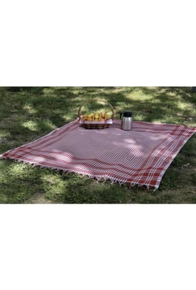 She&co Kırmızı Masa/piknik Örtüsü