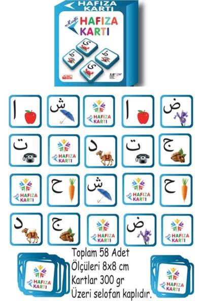 Zeka Vakti Elifba Harfli Hafıza Oyunu 4 Kutu Fiyatına 5 Kutu Eşleştirme Eğitici Oyun