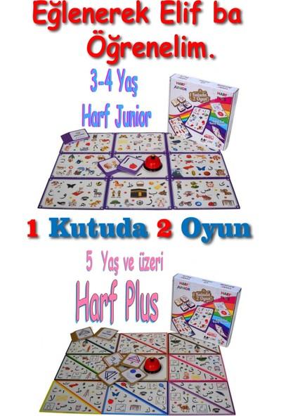 Zeka Vakti Elif Ba Öğrenme Seti 4 Lü Oyun Harf Plus, Dobble, Kodlama Dikkat Eğitim Oyunları