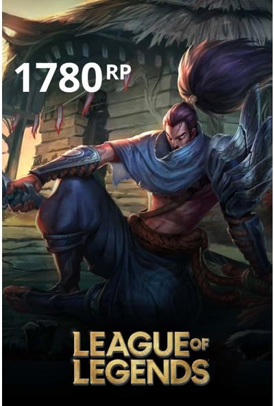 League Of Legends 1780 Riot Points - 1780 Rp
