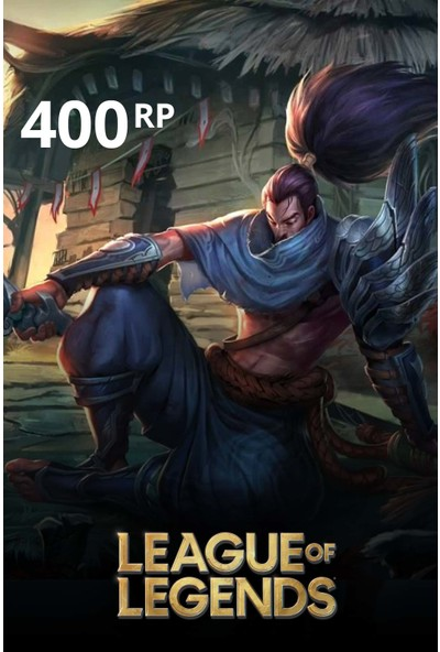 League Of Legends 400 Riot Points - 400 Rp