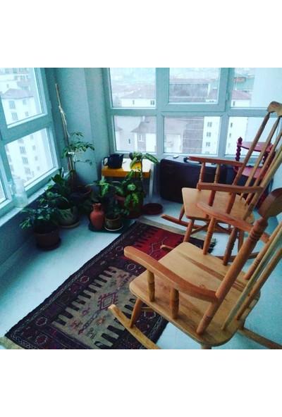 Zerka Rengin Vernikli Sallanan Sandalye & Tv Koltuğu