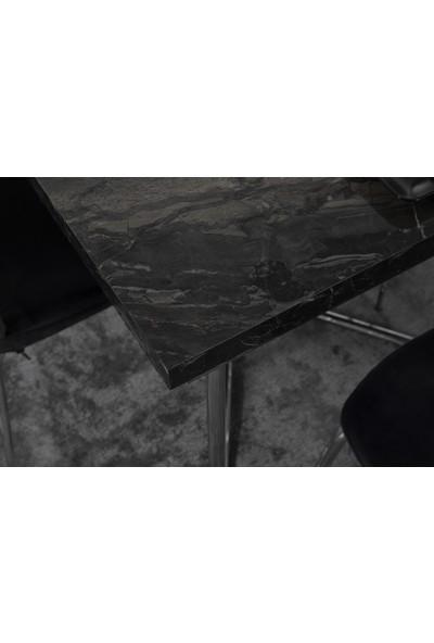 Feyza Mobilya Nira Metal Ayaklı Masa