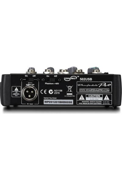 Wharfedale Pro Connect 502 USB Ses Mikseri