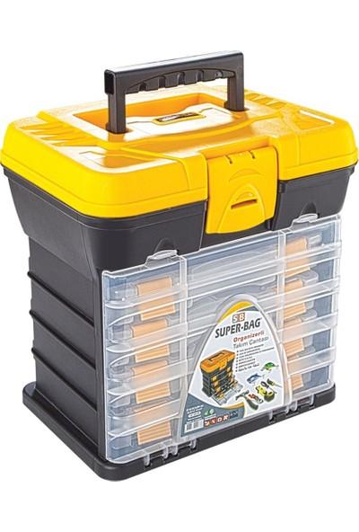 Super Bag Organizerli Takım Çantası ASR-2089