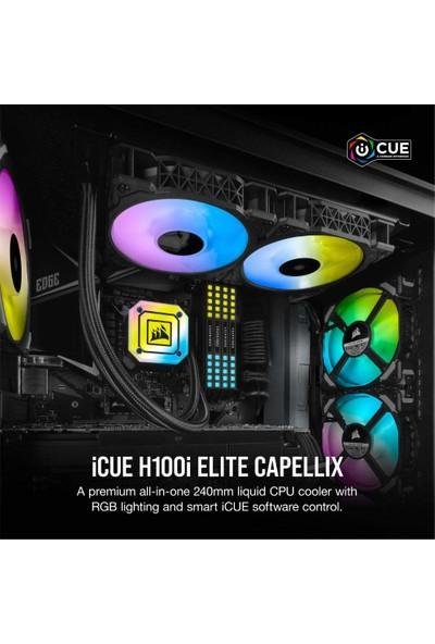 Corsair Icue H100I Elite Capellix Sıvı Cpu Soğutucu (Yurt Dışından)