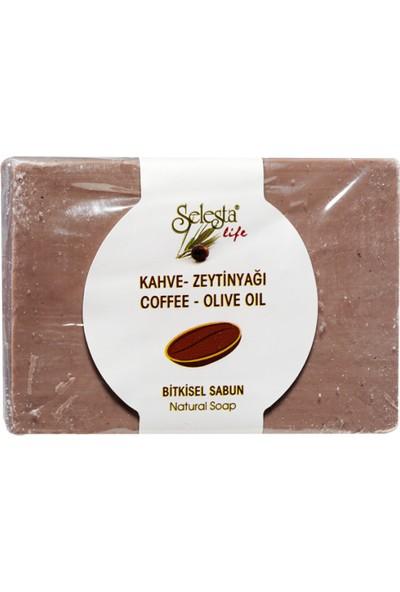 Selesta Life Kahve-Zeytinyağlı Bitkisel Katı Sabun