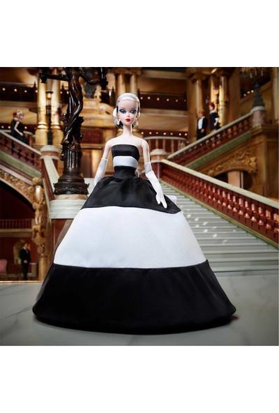 Barbie Signature Siyah Beyaz Balo Elbiseli FXF25