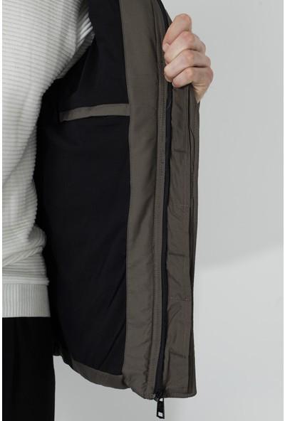 Buratti Çıkarılabilir Kapüşonlu Ekstra Slim Fit Mont Erkek Mont 556B5050
