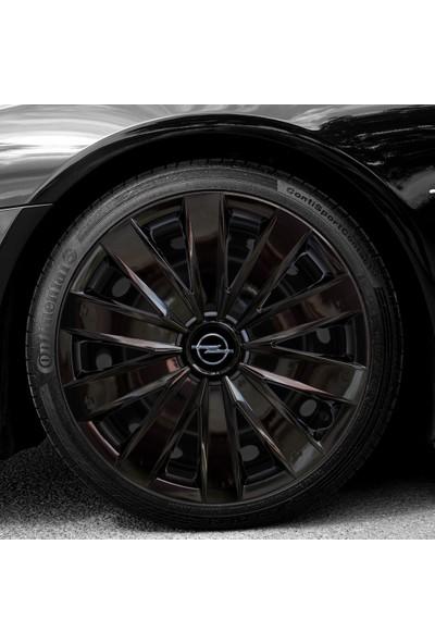 Avsaroto Opel Astra 16 Inç Piano Black Parlak Siyah Jant Kapağı