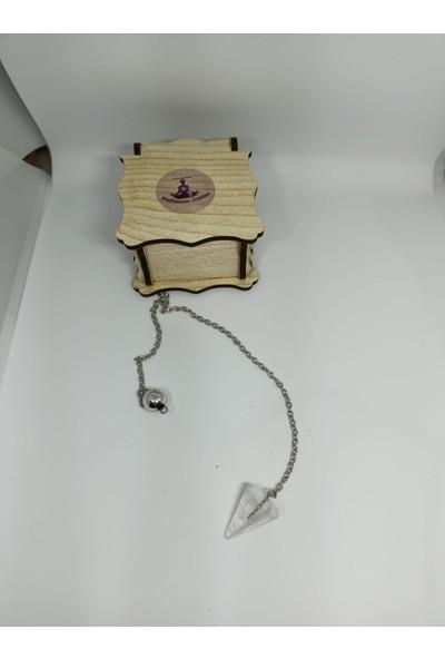 Meditasyon Dükkanı Kristal Kuvars Pandül/sarkaç