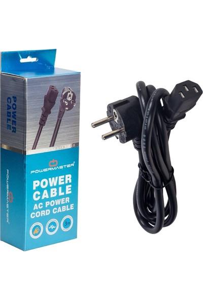 Powermaster C7 Power Kablo Kutulu 3 x 1 mm - 3m