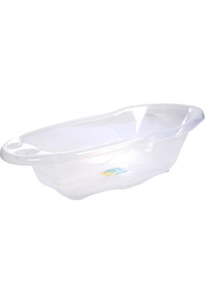 Sema Bebe Giderli Banyo Küveti - Beyaz