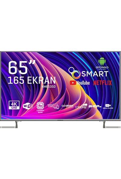 "Nordmende NM65350 65"" 165 Ekran Uydu Alıcılı 4K Android Smart LED Tv"