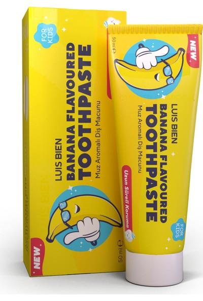 Luis Bien Natural Muz Aromalı Diş Macunu 50 ml