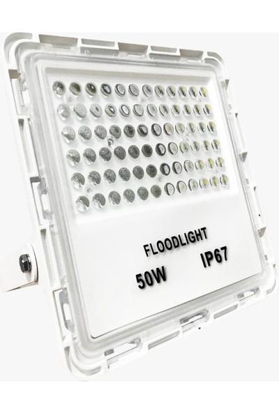 Taled 50 W Lensli LED Projektör Stadyum Otopark Aydınlatma Yüksek Işık