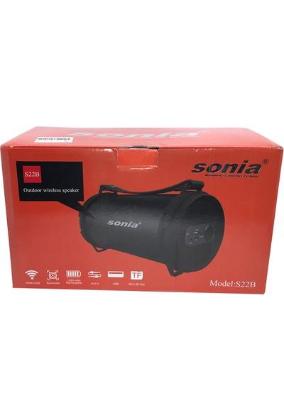 Sonia S22B Kablosuz Stereo Hoparlör - Speaker