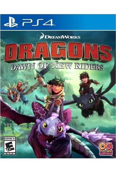 Dragons Dawn Of New Rıders Ps4 Oyun