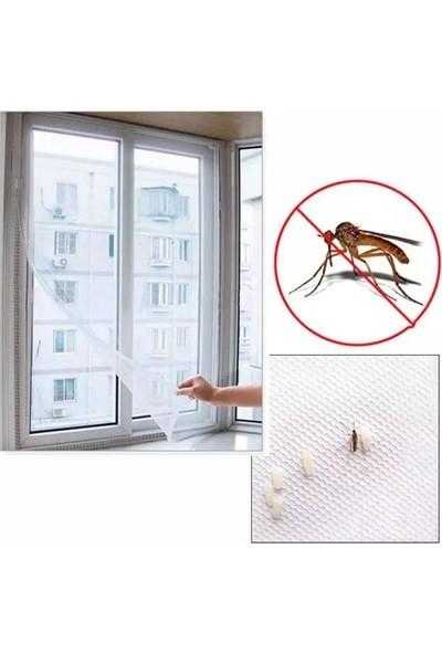 Omak Sineklik Yıkanabilir Pencere Sinekliği Cırt Bantlı Yapışkanlı 130CMX150CM-SWATTER-WINDOWS
