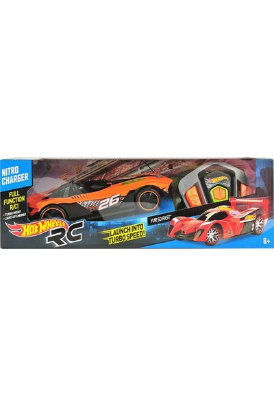 Hot Wheels Yur So Fast Nitro Charger Uzaktan Kumandalı Araba