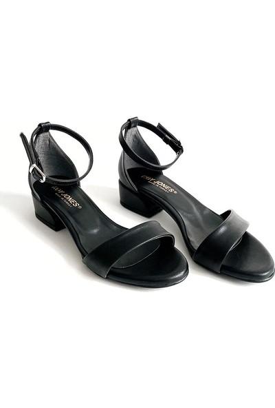 Roy Jones Kadın Tek Bant Kısa Topuklu Günlük Ayakkabı RJ025