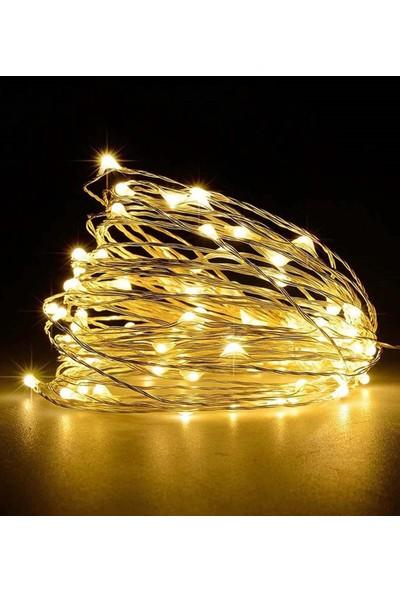Webotto Mandallı LED Işıllı Fotoğraf Askısı Metal Pano Tel Askılık Notluk Siyah