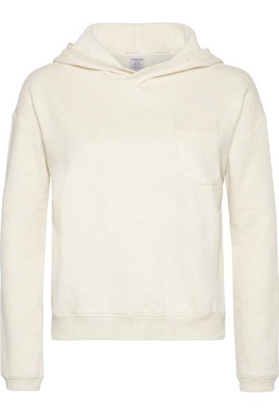 Calvin Klein 000QS5612E Bej Uzun Kollu Sweatshirt
