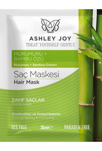 Ashley Joy Saç Maskesi Güçlendirici & Dolgunlaştırıcı 30 ml