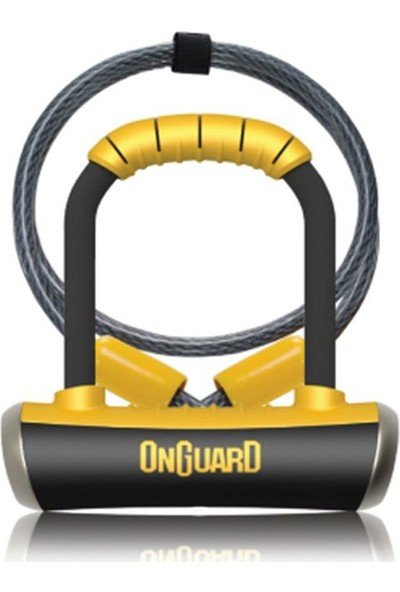 Onguard Anahtarlı U-Kilit 8008 Pıtbull Mini Dt Kablolu