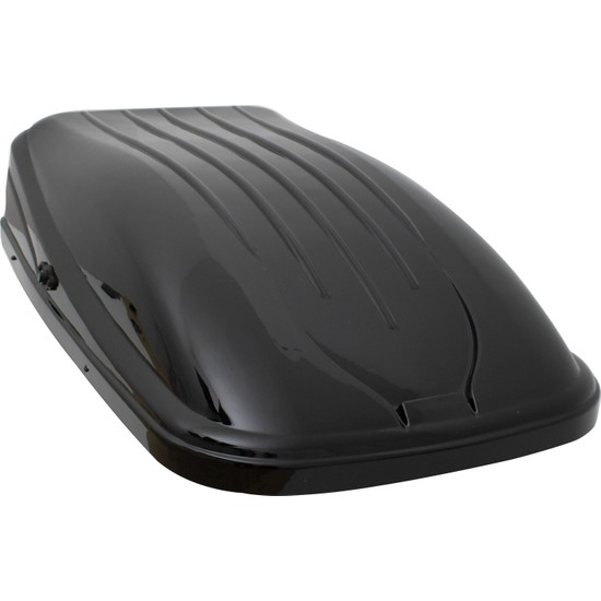Rich Araç Üstü Port Bagaj Portbagaj Tabut Bavul 390LT Siyah Renk