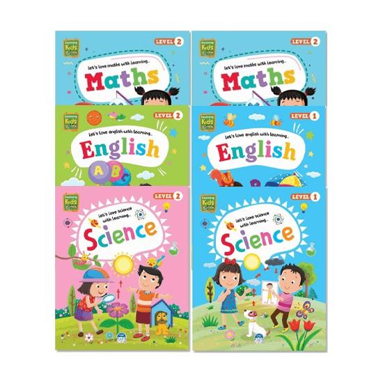 Martı Yayınları Learning Kids Ingilizce Aktivite Seti (4-5-6) Yaş