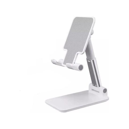 Mi7a Masaüstü Katlanabilir Tablet ve Telefon Tutucu Stand Aynalı