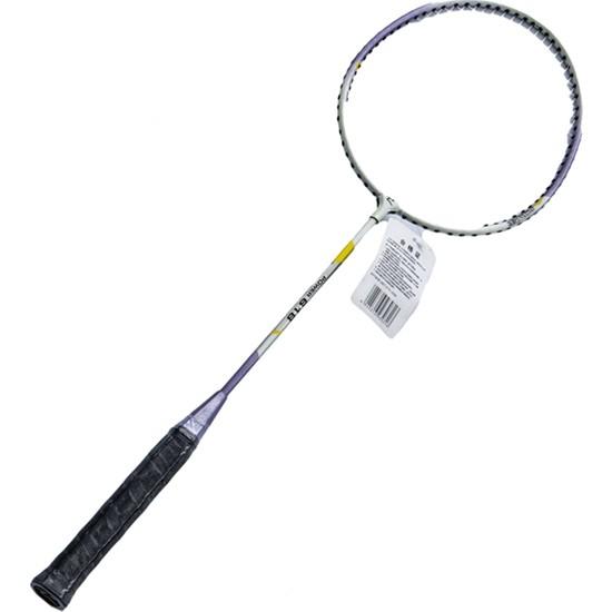 Tp Demir Alaşım Mor ve Beyaz Split Badminton Raketi