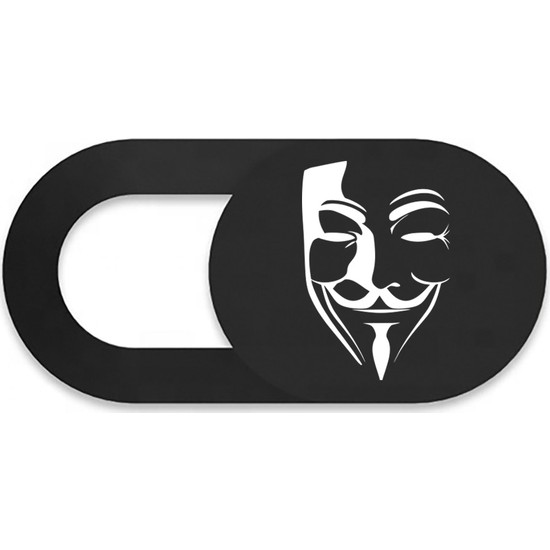 ThreeStep Pratik Web Kamera Kapatıcı V For Vendetta - Webcam Cover Gizliliğiniz Için Güvenli Kullanım