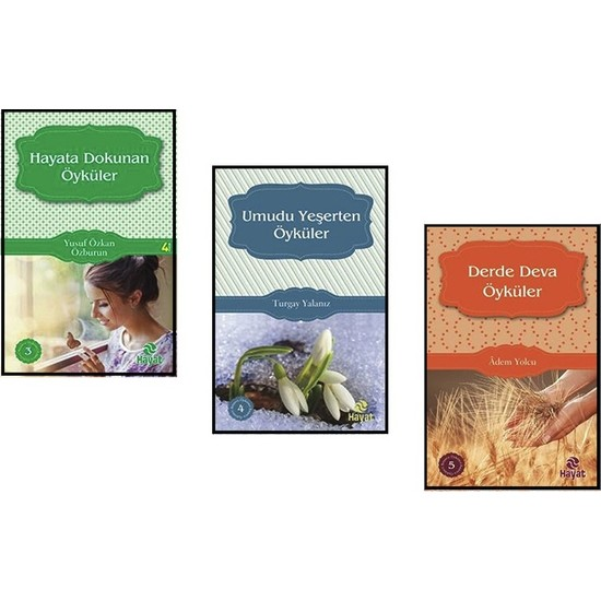 Derde Deva Öyküler, Hayata Dokunan Öyküler ve Umudu Yeşerten Öyküler 3 Kitap