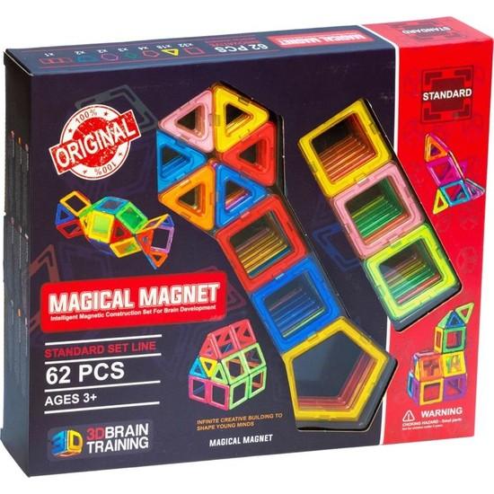 Başel Magical Magnet 62 Parça Oyun Seti