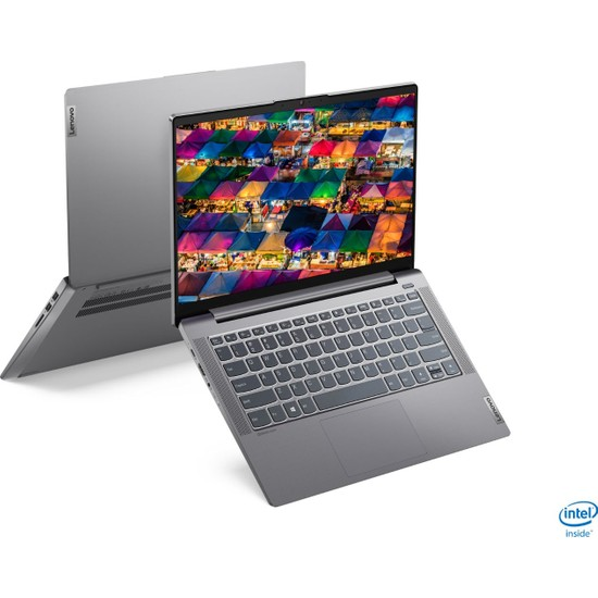 "Lenovo IdeaPad 5 Intel Core i5 1135G7 8GB 256GB SSD Freedos 14"" FHD Taşınabilir Bilgisayar 82FE00KATX"