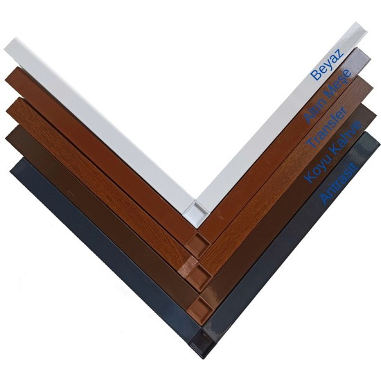 Çatı Katı 17X25 Alüminyum Sineklik Profili - 5 Renk