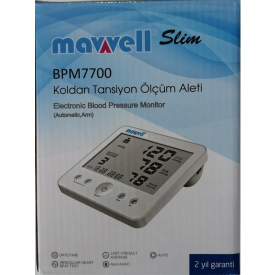 Mawell Tansiyon Aleti Koldan Dijital